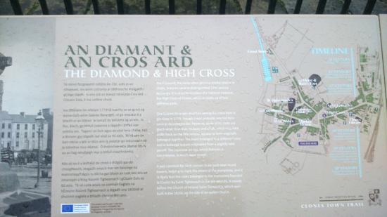The High Cross: Information Board