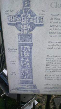 The High Cross: Description of carvings