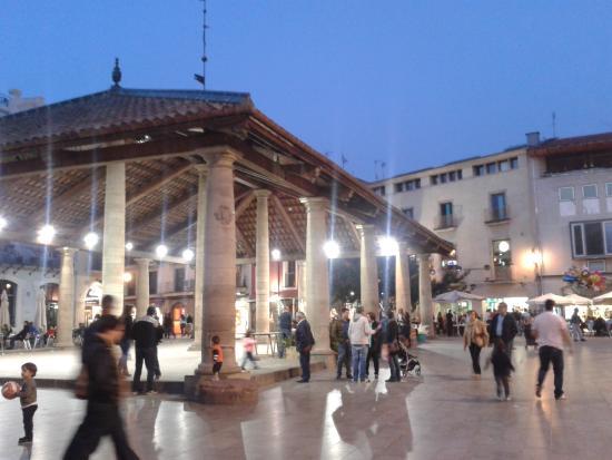 Granollers, สเปน: porxada
