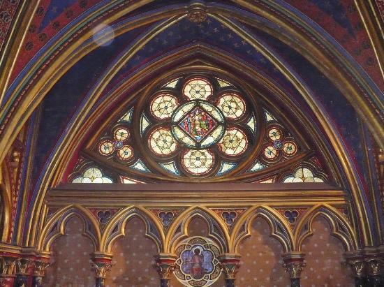 Sainte Chapelle Interior Arches Saint