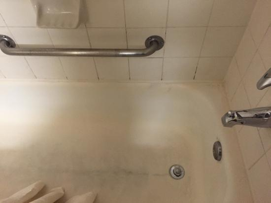 Extended Stay America - Houston - Med. Ctr. - NRG Park - Fannin: mold, mildew, filth - room 113