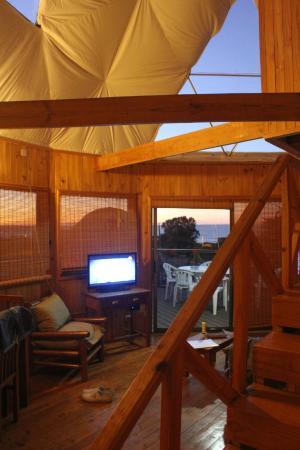 Pichilemu Domos: Living room