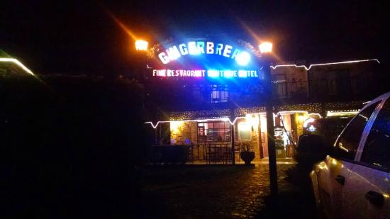 Gingerbread Restaurant: Gingerbread