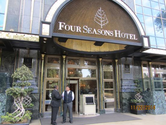 Hotel Entrance Picture Of Four Seasons Hotel Cairo At
