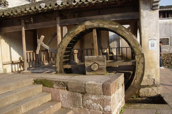 Ancient Buildings of Chengkan Village : water wheel