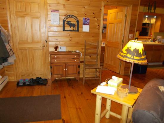Nature's Pointe Cabins: front room