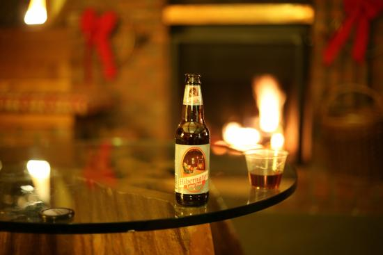 Kitzhof Inn: Fireplace