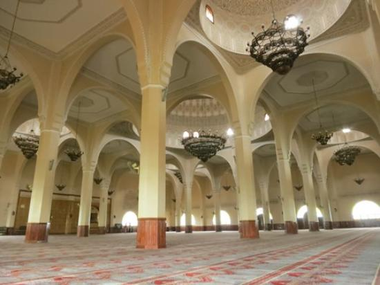 Inside Of The Kampala Grand Mosque Picture Of Gaddafi