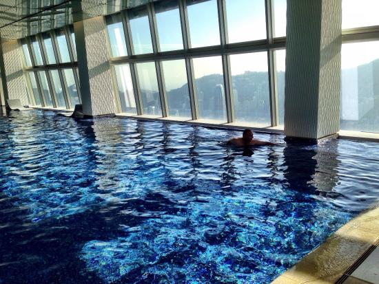 Highest Pool In The World 118 Floors High Picture Of The Ritz Carlton Hong Kong Hong Kong