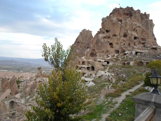 Argos in Cappadocia: Uchisar Castle
