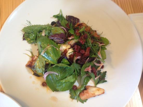 The Salopian Inn: octopus salad