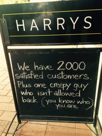 "Harry's Bar: Great sign! I think we all know ""that guy"""