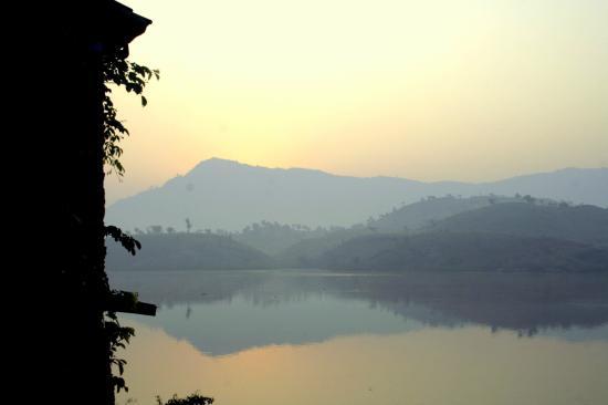The Jhadol Safari Resort: Sunrise Time from room