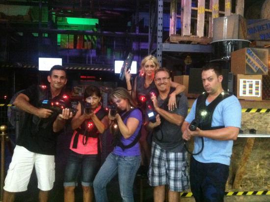 FLIPnOUT Fun Center : Laser Tag - It's a Blast!