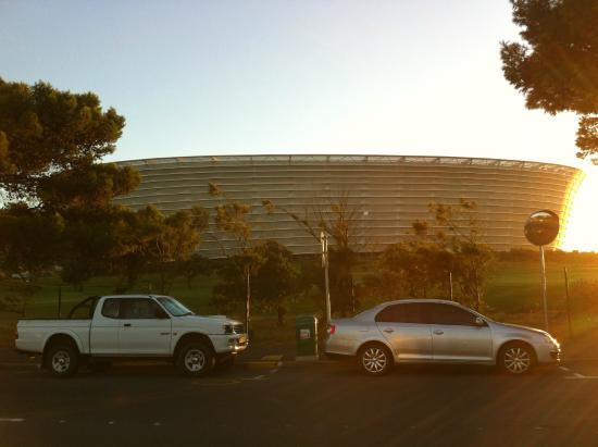 Cape Town Stadium (Green Point Stadium): During the sun set