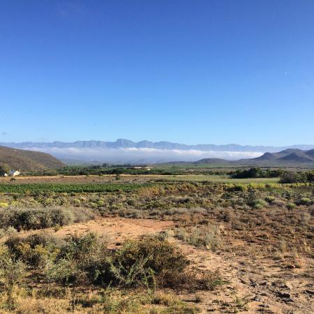 Tanagra Wine + Guestfarm: Breakfast View
