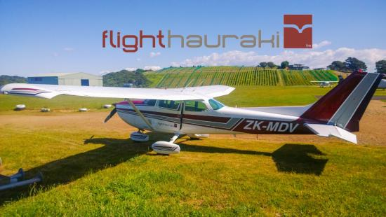Waiheke-øya, New Zealand: Cessna 172 MDV at Waiheke