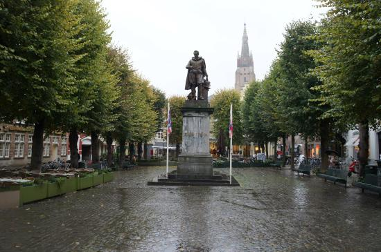 Square and Statue of Simon Stevin