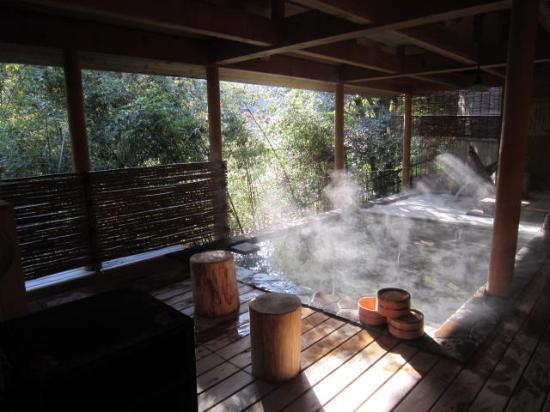 Kakusenan: 露天風呂