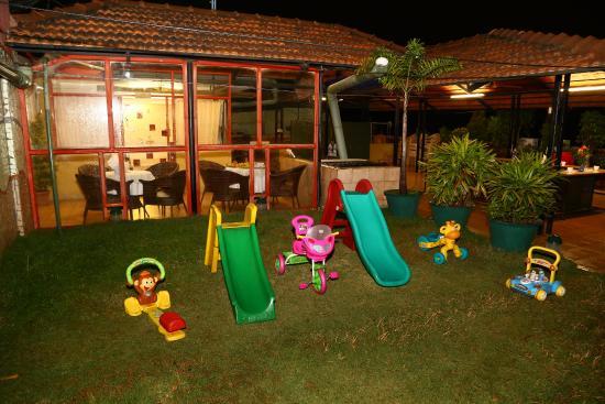 Krishna Cedar Service Apartment : Play Area