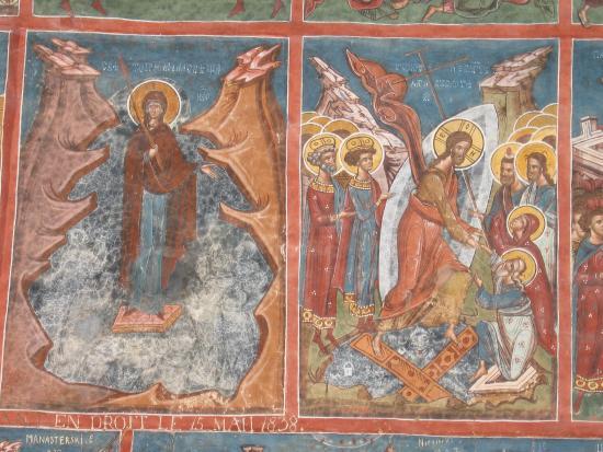 The Painted Monasteries of Bucovina: fresco Moldovita