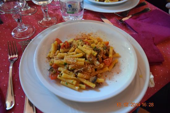 Turismo Rurale Fontana del Cherubino: Pasta