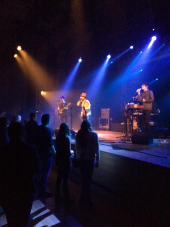 Handelsbeurs: Will and The People for an audience of 80 people during the GLIMPS festival (2014)