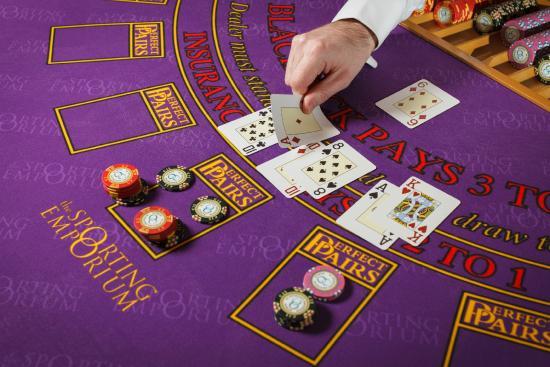 The Sporting Emporium Casino, Dublin: Blackjack - Perfect Pairs