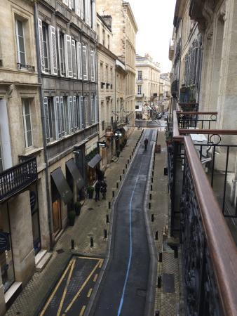 Best Western Grand Hotel Francais: Vue du balcon de la chambre 205.