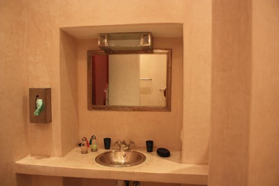 Riad El Kenz: salle de bain