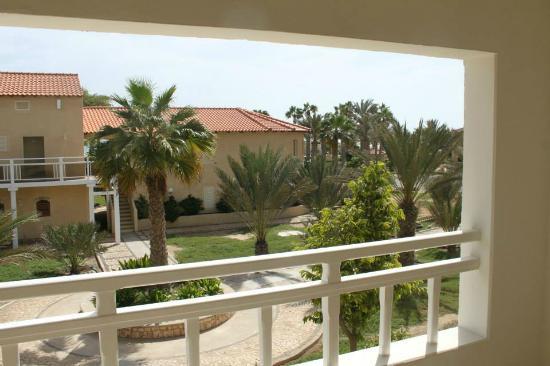 Hotel Morabeza : Vy från vår balkong