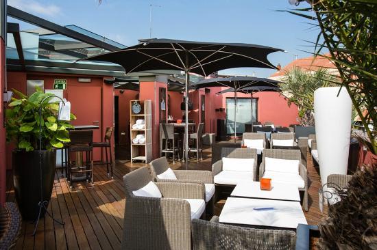 Terraza Picture Of Hotel Villa Emilia Barcelona Tripadvisor