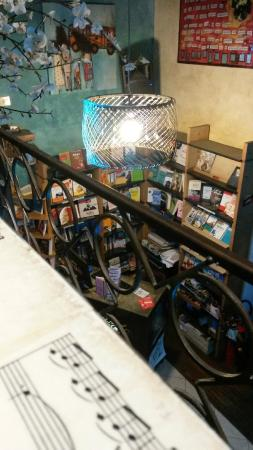 Libreria Cafe La Cite: View from the top ....
