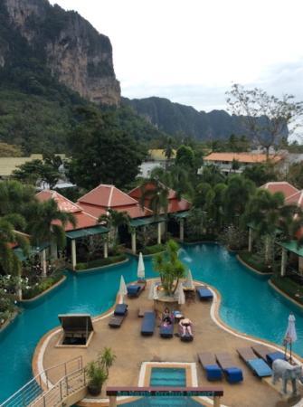 Aonang Orchid Resort: view balcony