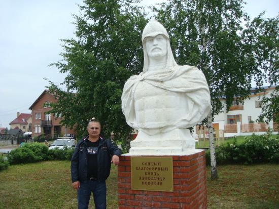 Ust-Kachka, Rusia: возле Храма