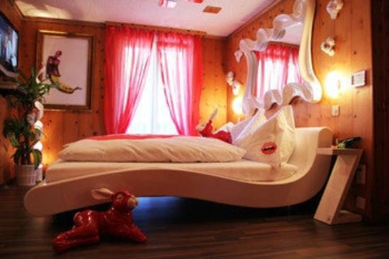 Popcorn Hotel : GummiLove Zimmer