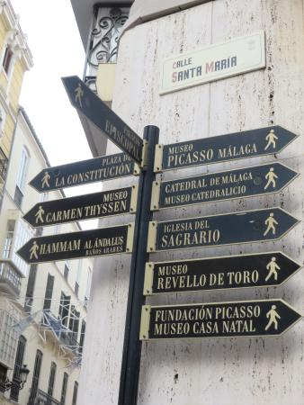 Museo Picasso Malaga: easy to find
