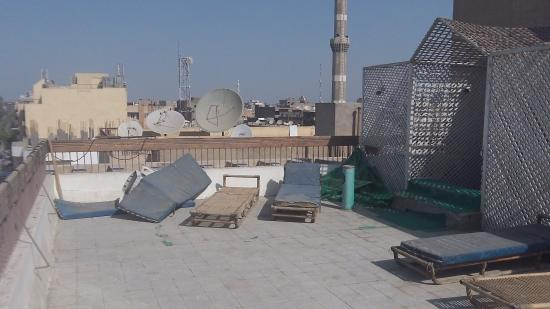 Gaddis Hotel, Suites and Apartments: sun roof