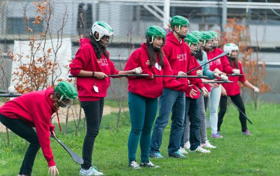 Experience Gaelic Games: Getting to grips with hurling!