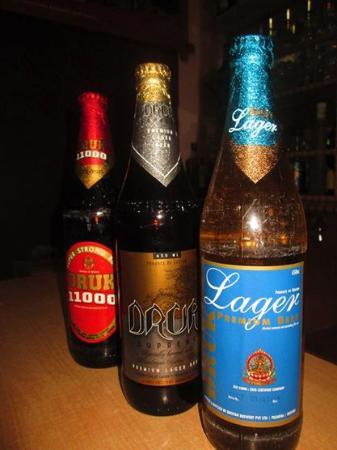 Druk Beers Picture Of Wine N Dine Thimphu Tripadvisor