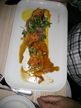 Chez Saint-Pierre : Gigot d'agneau