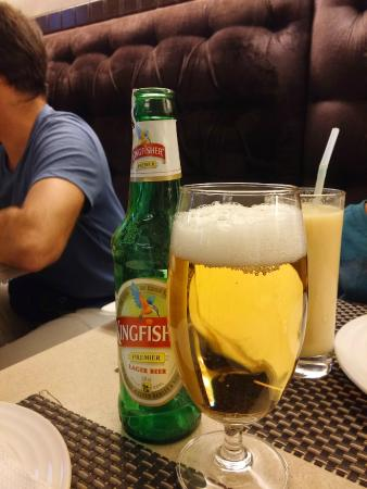 Chicken Inn: My first Kingfisher beer in New Delhi