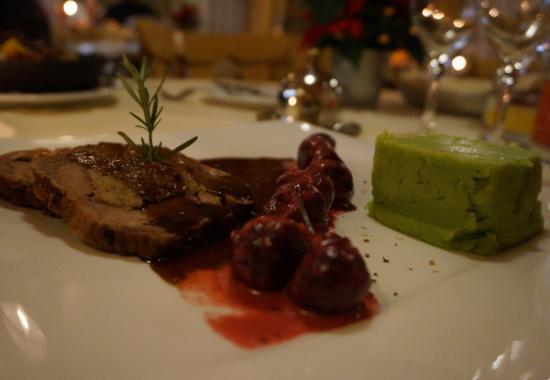 Hotel Alpenruh Restaurant: pork roast