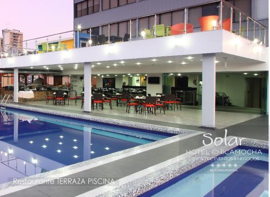 Foto de hotel chicamocha bucaramanga restaurante la for Tryp bucaramanga cabecera