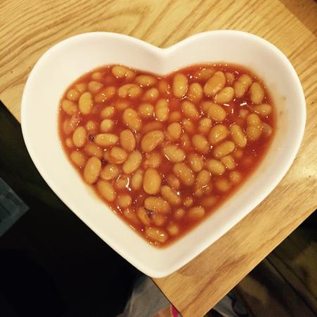 Eat your heart out: Beans!