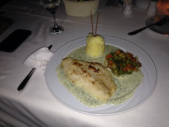 The Heaven Restaurant: Cod fish