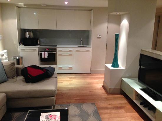 Fraser Residence City: Open Plan Kitchen