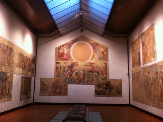 Pinacoteca Nazionale di Bologna : église reconstituée