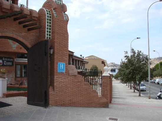 Hotel Mio Cid: street
