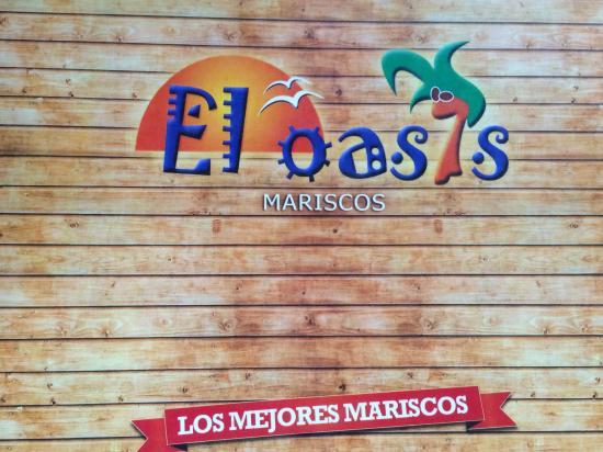El Oasis Mariscos: Menu